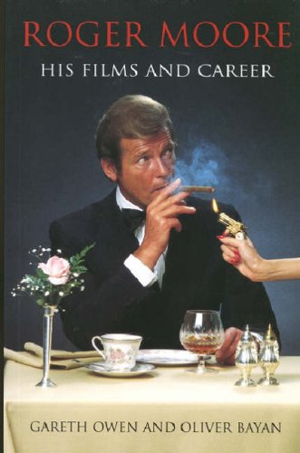 roger moore his films and career cover