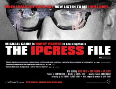 Ipcress Files poster Bond