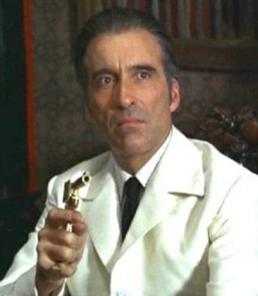 Christopher Lee James Bond