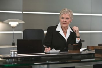 Judi Dench Bond