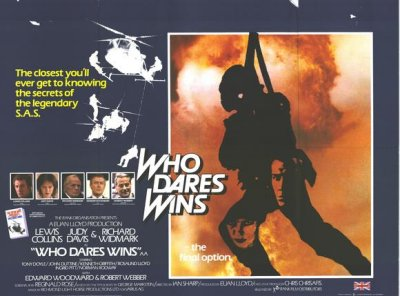 who dares wins  poster collins
