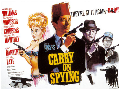 carry on spying poster