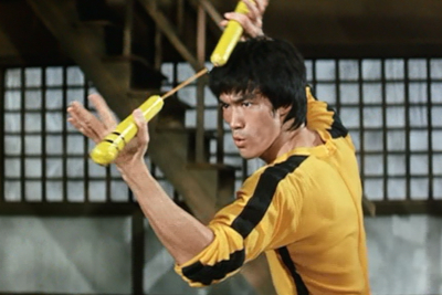 bruce lee james bond