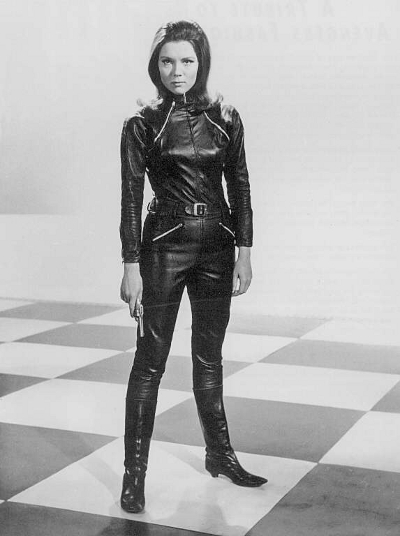 diana rigg catsuit avengers